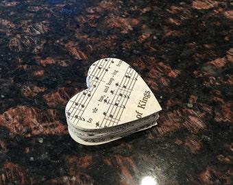 100 Vintage Antique Sheet Music Hearts