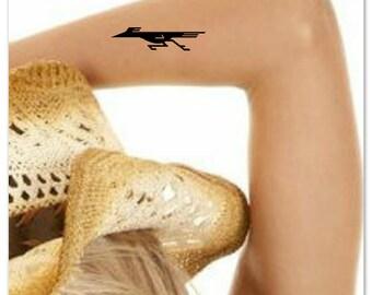 Temporary Tattoo Roadrunner Waterproof Fake Tattoo Thin Durable