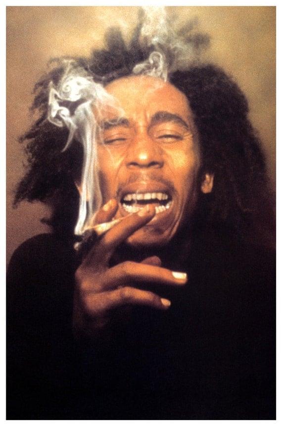 Bob Marley Poster  Lau...