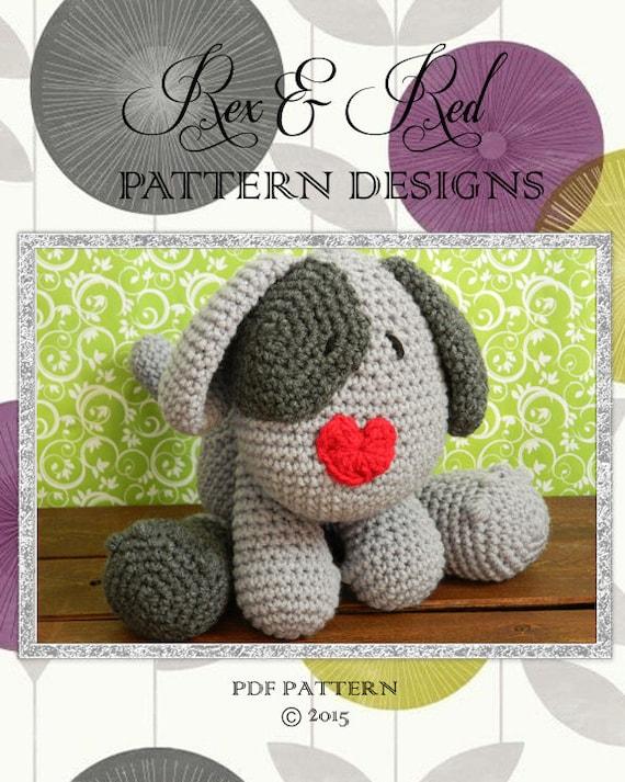 Crochet Amigurimi Dog Toy Pattern PDF PATTERN by ...
