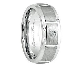 Mens Ring, Diamond Wedding Band, Promise Rings, Anniversary Rings, Mens Wedding Band, Ring, Weddings, Wedding Rings, His Wedding Band, Bands