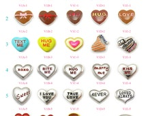 VALENTINES Floating Charms, Valentine's day Floating Charms, Memory Locket