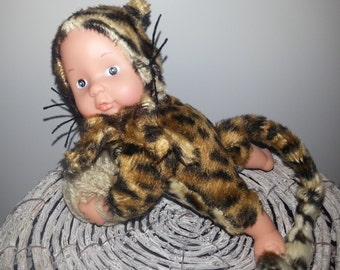 Leopard style Baby toy - home made creation