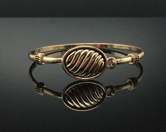 Bali élégant bracelet en or Bracelet, bracelet jonc or-ton Bracelet, Merci, cadeau d'anniversaire, cadeau de graduation