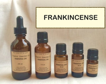 Essential Oil: Frankincense