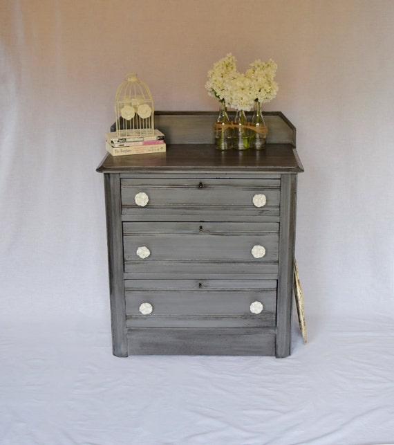 Foyer Furniture With Drawers : Antique furniture dresser chest of drawers entry foyer hallway