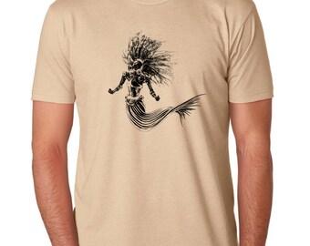 Mens Steampunk Mermaid Shirt 6210