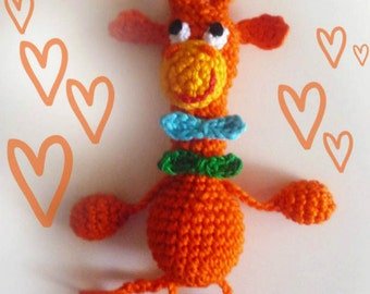 "crochet toy ""Giraffe"""