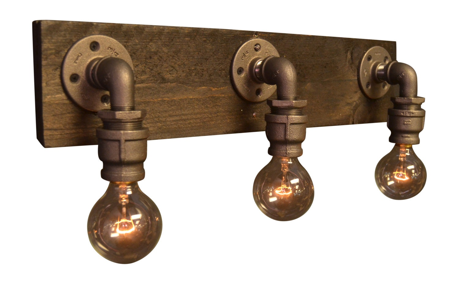 Antique Farmhouse Wall Sconces : Farmhouse light reclaimed wood industrial light