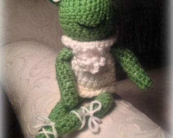 frog crochet Emma
