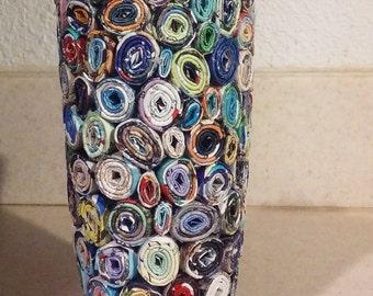 Small Circle Decorative Vase