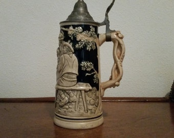Vintage Beer Stein Made in Germany