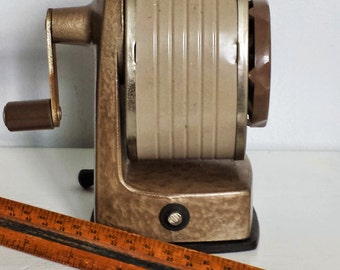 Apsco Pencil Sharpener On Etsy A Global Handmade And