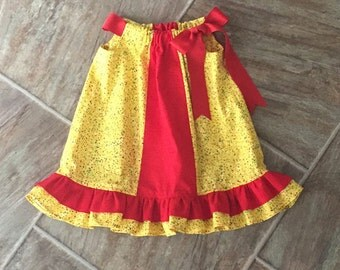 CLEARANCE SALE - Pillowcase Dress, Baby Toddler Girls, One Available in Size 2T Only
