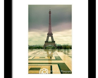 Trocaderro Paris, Eiffel tower, Photo paper, Photo print, Wall decor, Home decor, Room decor, House decor, Paris decor, Paris photo