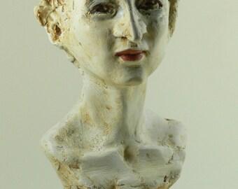 Portrait bust of Susanne Lothar