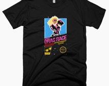 8-bit RuPaul's Drag Race T-Shirt