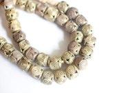 African brass beads, lost wax African, Ghanaian bead, Baoule brass, African beads, Ethnic brass bead, tribal brass, African gold, swirl
