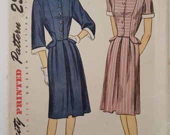Simplicity 1885 Vintage Sewing Pattern