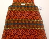 Handmade Cotton Jacquard Dress - Size 5
