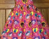 Molly Ruffled Sundress Doc McStuffins fabric