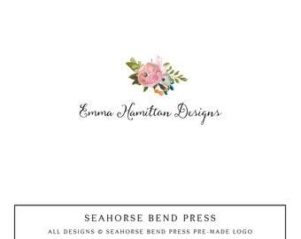 Logo Design, Pre-made Logo Identity, Small Business Branding, Wedding Logo and Branding, Emily Hamilton (103)