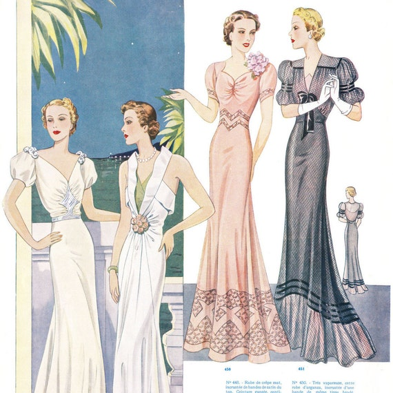 Perfection Summer 1938 PDF - vintage pattern catalog
