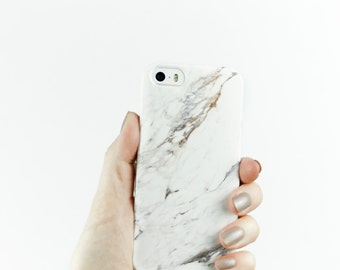Gift for Her, Minimalist Fashion Gift, for Best Friends iPhone 7 Case Marble, iPhone 7 Case, iPhone 7 Plus Case, 6S, Plus, 5S SE, Galaxy S8