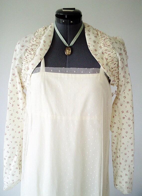 rustic wedding shrug beige wedding shrug shabby roses. Black Bedroom Furniture Sets. Home Design Ideas