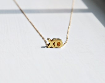 Hugs and kisses necklace, XO, sterling silver, gold vermeil, hug, kiss, X O pendant, gift for mom, romantic jewelry, bff gift, Cristina