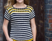 Crochet top pattern, crochet top pattern, summer, spring, permission to sell, crochet t shirt, crochet sweater, womens top pattern, easy