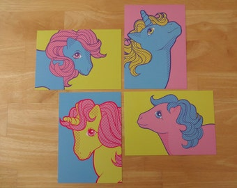 My Little Pony Pop Art Postcard Set