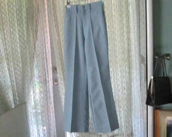 70s Lee Jeans Light Blue Bellbottoms / 60s Vintage Jeans Size 25 Waist