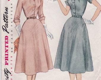Classy 1950s Dress Pattern Simplicity 3950 Size 14