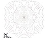 Floral Mandala Art-Star O...