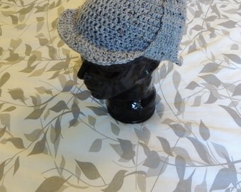Crochet Sherlock Holmes Deerstalker Beanie - Gifts Under 30