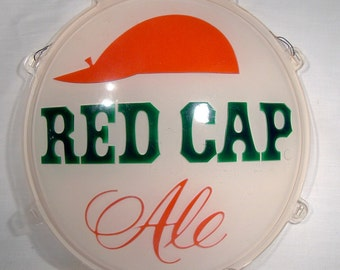 Carling Red Cap Ale Beer Advertising Sign 1960s