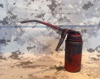 1960s Wesco Trigger Pump Oil Can.
