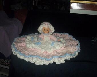 Crochet Bed / Pillow Doll