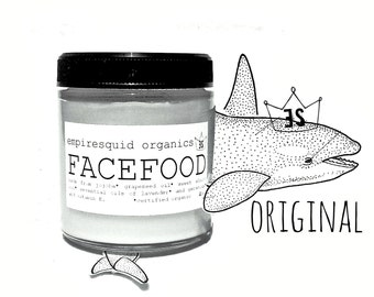 Original Face Food with Shea | Organic Facial Moisturizer | Organic Skin Care | Natural Face Moisturizer | Vegan Skincare