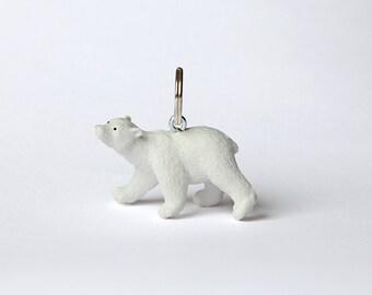 "Key chain ""Polar bear cub"""