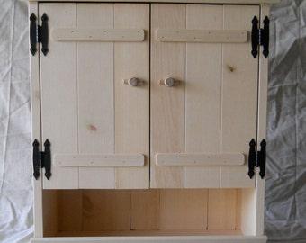 Pine Bathroom Cabinet