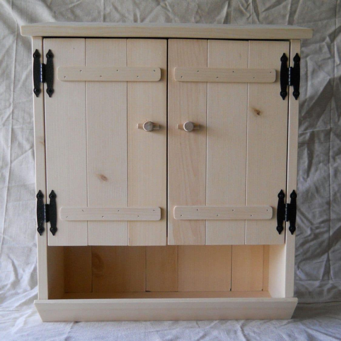 Https Www Etsy Com Listing 231016041 Pine Bathroom Cabinet