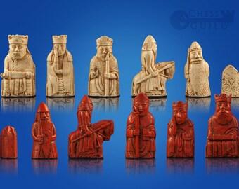 Isle of Lewis Mini Chessmen Chess Set