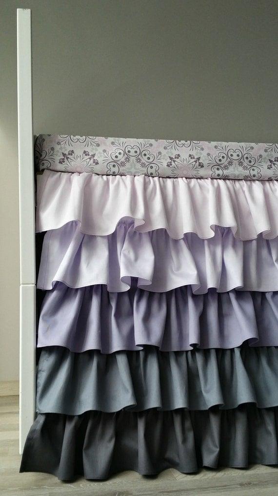 Purple Crib Skirt 115