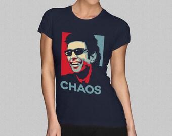 Jurassic Park Ian Malcolm T-Shirt - Jeff Goldblum - Chaos Womens T-Shirt S M L XL XXL