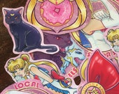 Sailor Moon Sticker Pack
