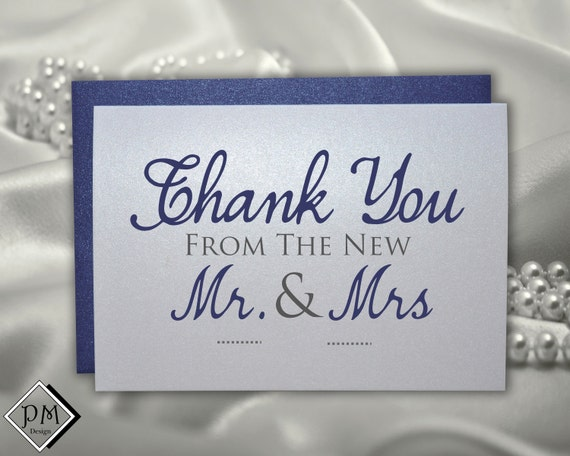 Thank You Card Wedding Gift: Wedding Thank You Cards For Wedding Gifts From By PicmatCards