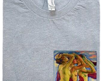 Three Graces Pocket Shirt (Koloman Moser)