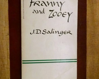 Franny and Zooey by J.D. Salinger Vintage 1979